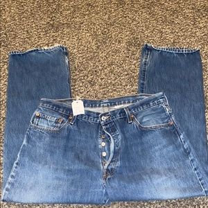 Levi's 501 Button Fly 40x30